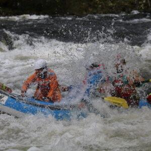 female raft guides