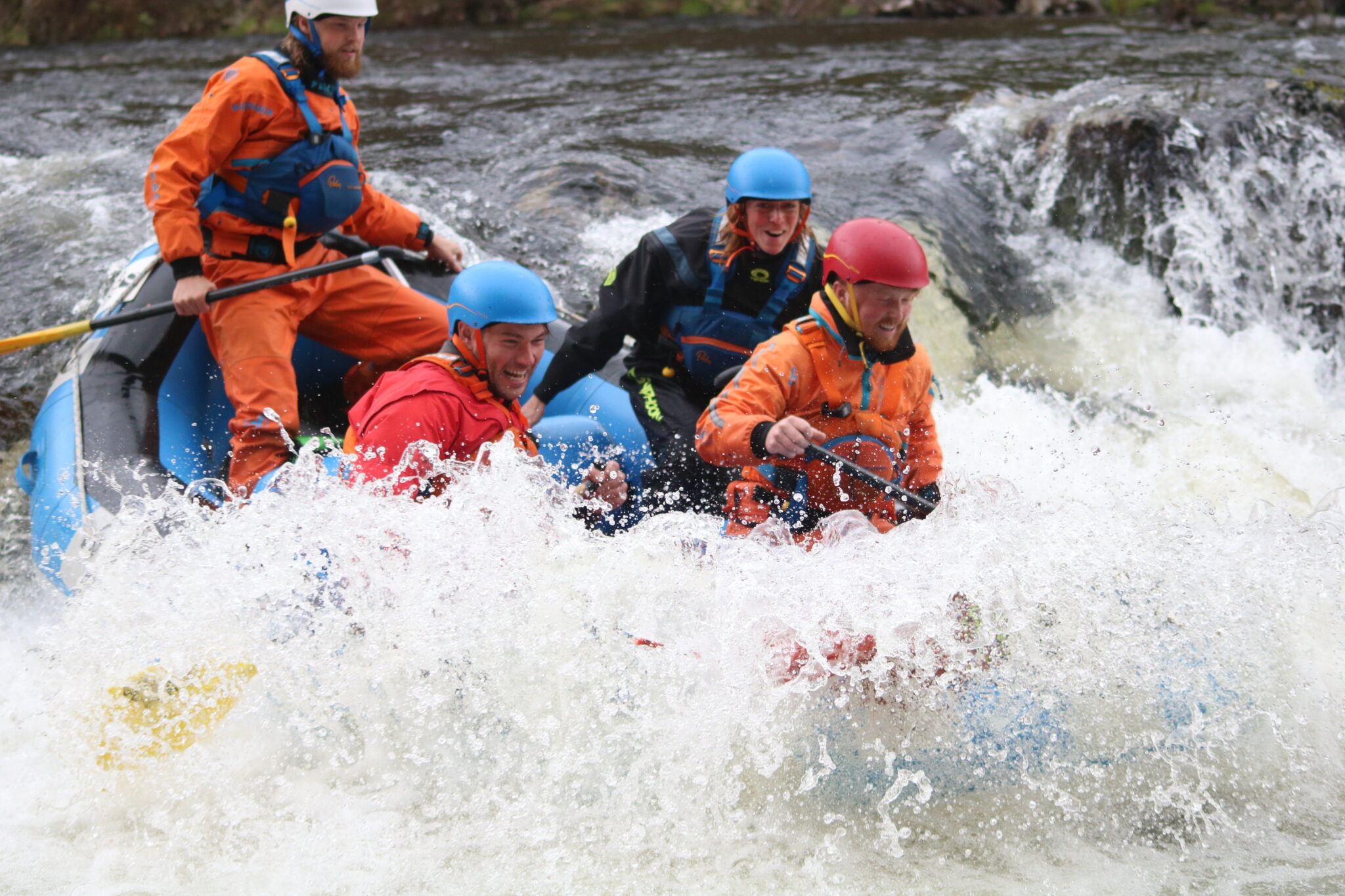 Outdoor Instructors Raft guides