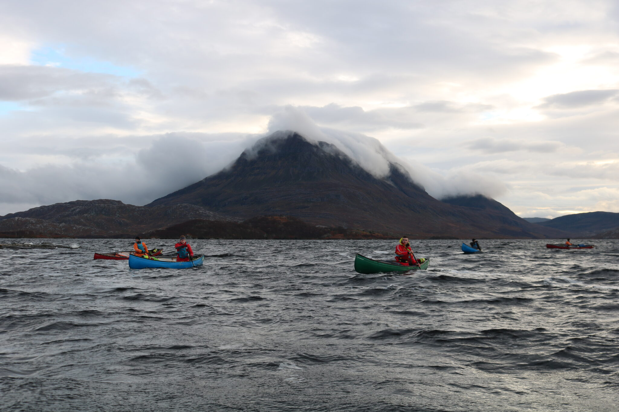 Outdoor Instructor Open Water Canoe Leader