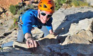Instructor training course climbing ben