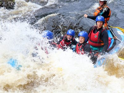 White Water Rafting in Aviemore, the Cairngorms & Scotland